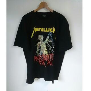 『新品』メタリカ METALLICA ヘヴィメタ バンドTシャツ(XL)D20