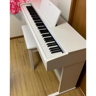 ヤマハ(ヤマハ)の美品 18年製 ヤマハ アリウス 電子ピアノ YDP-143 札幌直取(電子ピアノ)