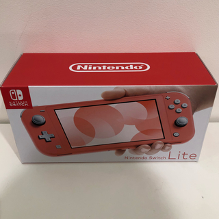Nintendo Switch - ニンテンドー スイッチ ライト コーラル