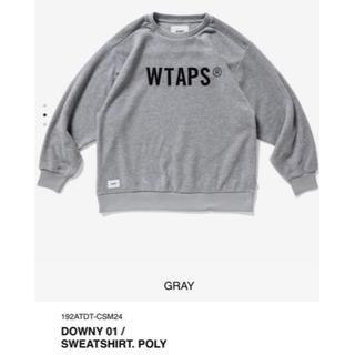 W)taps - M 19AW WTAPS DOWNY 01 / SWEATSHIRT. POLY