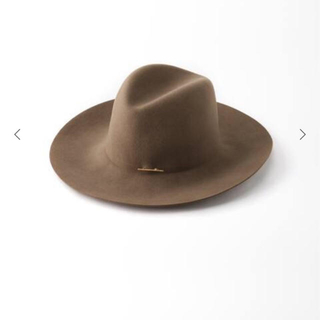 アパルトモンドゥーズィエムクラス(L'Appartement DEUXIEME CLASSE)のL'AppartementJANESSA LEONE HAT with PIN(ハット)