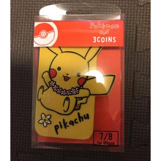 スリーコインズ(3COINS)のピカチュウ  スマホケース  iphone7 (iPhoneケース)