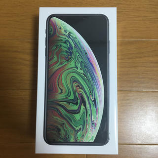 iPhone - 新品未開封iPhone XsMax SpaceGray 256GB SIMフリー