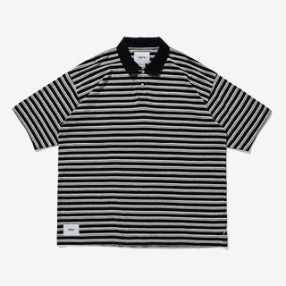 ダブルタップス(W)taps)の【国内正規品】Wtaps 20SS Vasque Polo 黒M ポロシャツ (ポロシャツ)