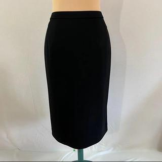 レオナール(LEONARD)のus 796 LEONARD レオナール スカート 黒 W67(ひざ丈スカート)