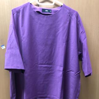 ハレ(HARE)のHARE パープルTシャツカットソー(Tシャツ/カットソー(半袖/袖なし))