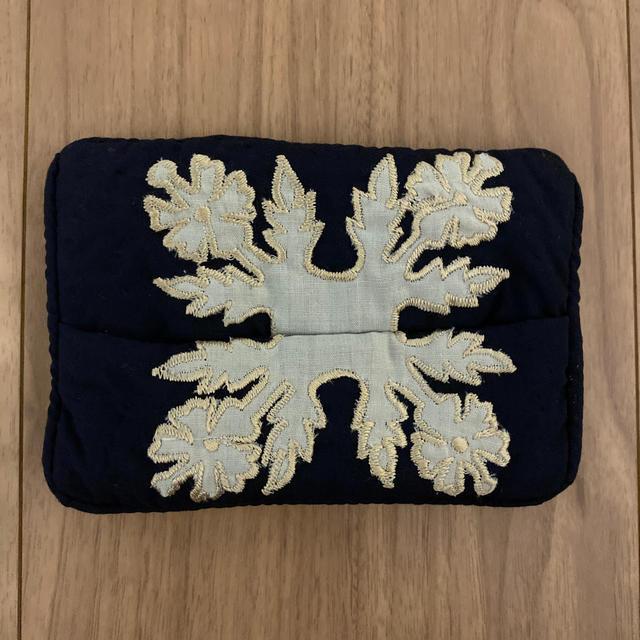 ハワイアン風 ポケットティッシュケース ハンドメイドの生活雑貨(雑貨)の商品写真