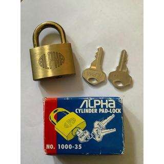 アルファ 南京錠 1000–35 ALPHA