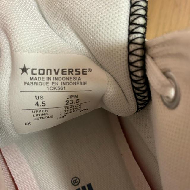 CONVERSE(コンバース)のコンバースハイカット ブラック レディースの靴/シューズ(スニーカー)の商品写真