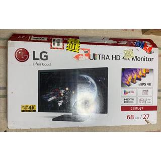エルジーエレクトロニクス(LG Electronics)のLG 27インチ IPS 4K/60Hz対応 液晶ディスプレイ 27MU67-B(ディスプレイ)