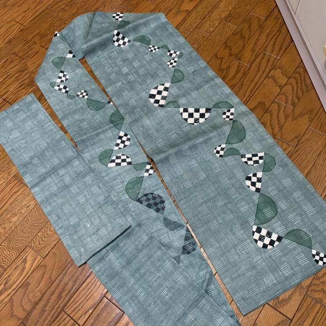 【値下げ】夏帯 名古屋帯 本麻 レディースの水着/浴衣(帯)の商品写真
