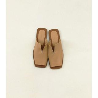 TODAYFUL - Leather Slit Sandals