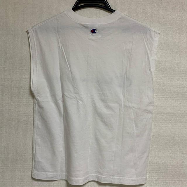 FRAY I.D(フレイアイディー)のFRAY I.D×Championコラボ レディースのトップス(Tシャツ(半袖/袖なし))の商品写真