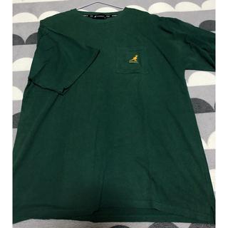 KANGOL - KANGOL 緑 Tシャツ L
