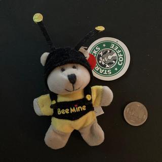 スターバックスコーヒー(Starbucks Coffee)のSTAR BUCKSマグネット式マスコットベアー③冷蔵庫にくっつきます!(ぬいぐるみ)