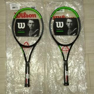 ウィルソン(wilson)の2本セット  ウィルソン   ブレード  100L  G2   新品未使用(ラケット)