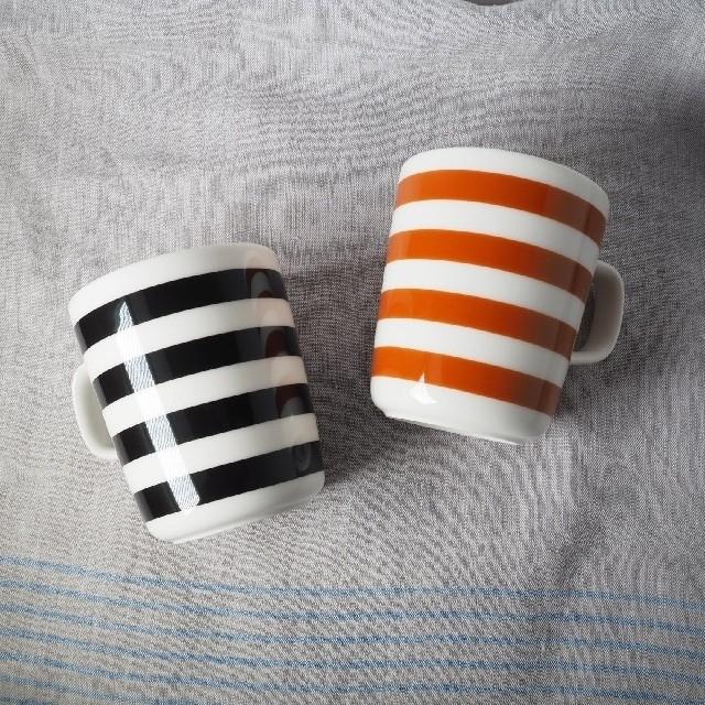 marimekko(マリメッコ)の【新品未使用】marimekko タサライタ マグカップ2個セット キッズ/ベビー/マタニティの授乳/お食事用品(マグカップ)の商品写真