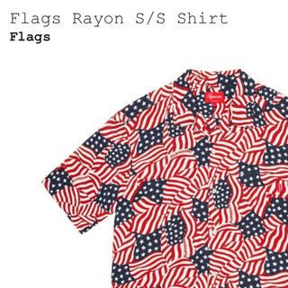 シュプリーム(Supreme)の★XL★SUPREME Flags Rayon S/S shirt(シャツ)