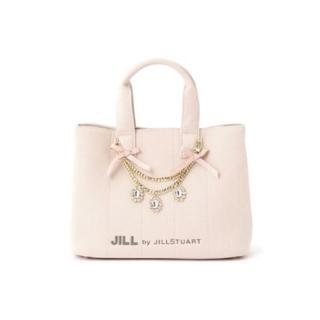 JILL by JILLSTUART - JILL BY JILLSTUART ジュエルリボントート ピンク