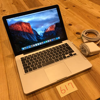 Mac (Apple) - 美品!大容量HDD搭載!MacBook pro 13インチ mid2009