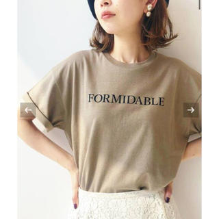 IENA - 美品 IENA イエナ ロゴプリントTシャツ