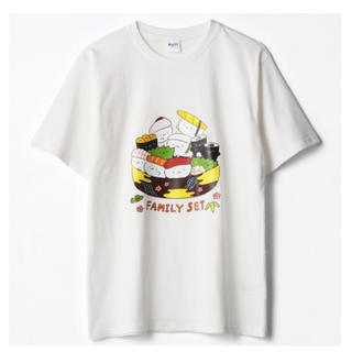 しまむら - しまむら おしゅしだよ ファミリーセット Tシャツ LL 白 ホワイト