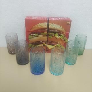 マクドナルド - 【6色セット】マクドナルド コカ・コーラの缶そっくりなコークグラス 2011年