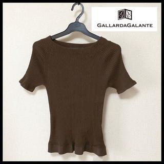 ガリャルダガランテ(GALLARDA GALANTE)の新品  リブニット(Tシャツ(半袖/袖なし))