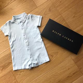 Ralph Lauren - ラルフローレン ロンパース カバーオール  半袖 70サイズ