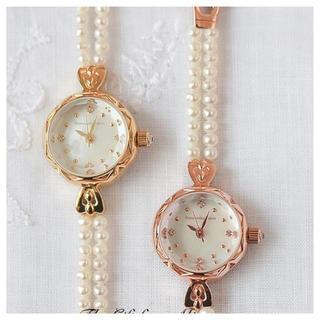 サマンサティアラ(Samantha Tiara)のSamantha tiara サマンサ プリンセス パール ベルト 腕時計(ポーチ)