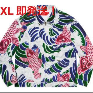Supreme - xl supreme waves work jacket ワークジャケット 鯉
