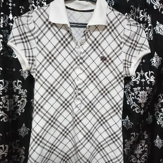 BURBERRY - BURBERRY  ポロシャツ レディース 正規品