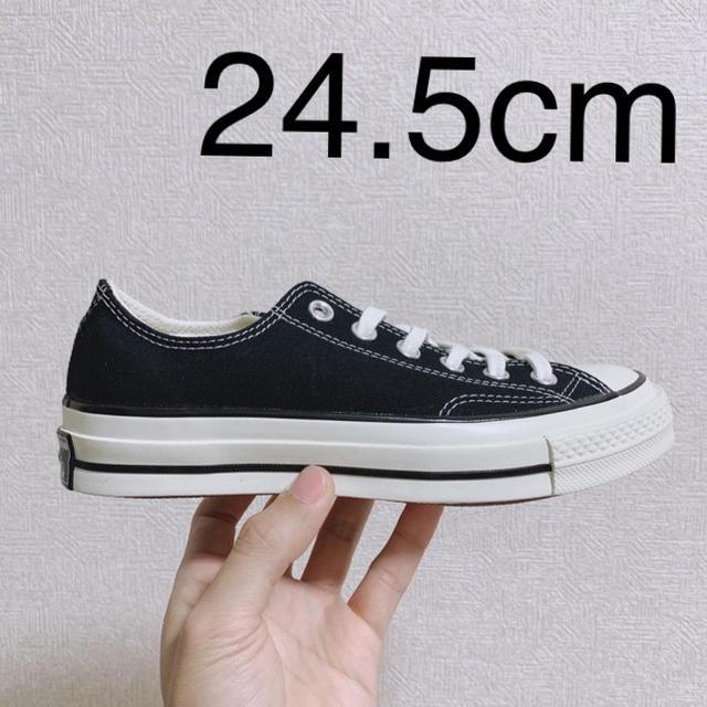 CONVERSE(コンバース)の24.5cm ★黒CONVERSEチャックテイラー新品正規品ct70 レディースの靴/シューズ(スニーカー)の商品写真