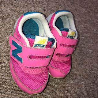 New Balance - 外箱あり ● NB ニューバランス スニーカー 12.5cm ● ピンク 靴