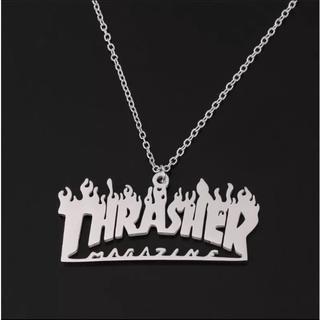 THRASHER - ☆THRASHER ネックレス(シルバー)☆