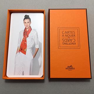 Hermes - エルメス  カード スカーフの巻き方 HERMES