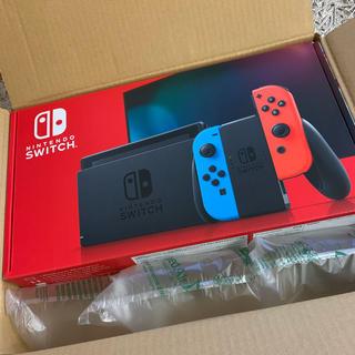 Nintendo Switch - 【新型】switch ニンテンドー スイッチ 本体 ネオン 新品 未開封 任天堂