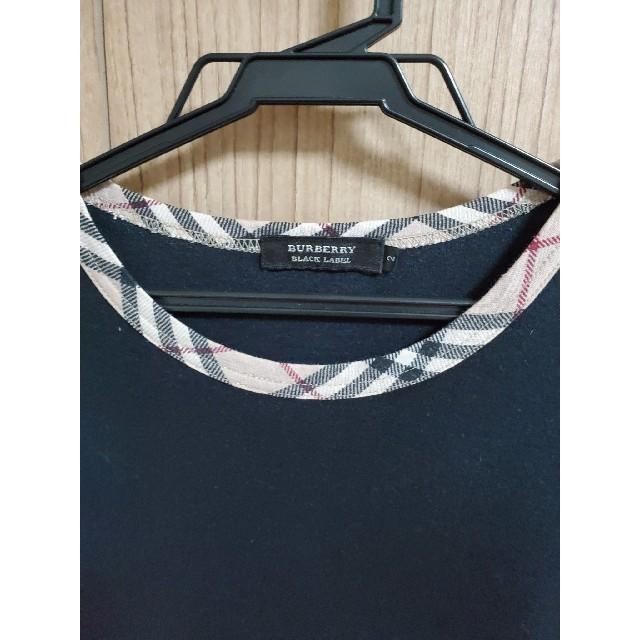 BURBERRY BLACK LABEL(バーバリーブラックレーベル)のおしゃれなバーバリーTシャツ メンズのトップス(Tシャツ/カットソー(半袖/袖なし))の商品写真