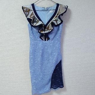 JEWELS - ◆JEWELS♡スカーフフリルデザインミニドレス◆