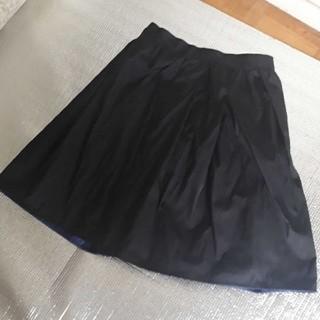 ガリャルダガランテ(GALLARDA GALANTE)の黒のスカート(ひざ丈スカート)