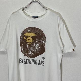 アベイシングエイプ(A BATHING APE)の【美品】A bathing ape T-shirt 1(Tシャツ/カットソー(半袖/袖なし))