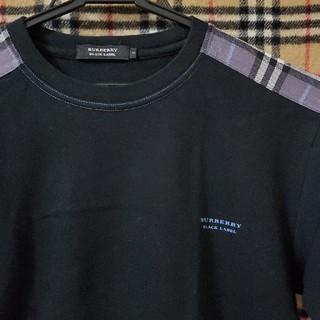 BURBERRY BLACK LABEL - 【未使用に近い】おしゃれなバーバリーTシャツ
