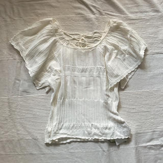 ロペ(ROPE)のロペ レースニットトップス(カットソー(半袖/袖なし))