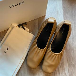 celine - celine セリーヌ ソフト バレリーナ パンプス フィービー 37