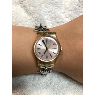 スウォッチ(swatch)の腕時計 レディース スウォッチSwatch ピンク(腕時計)