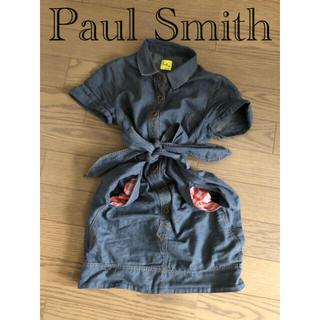 ポールスミス(Paul Smith)の超美品 ポールスミス デニム ワンピース(ひざ丈ワンピース)