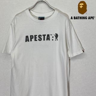 アベイシングエイプ(A BATHING APE)の【美品】a bathing ape t-shirt 2(Tシャツ/カットソー(半袖/袖なし))