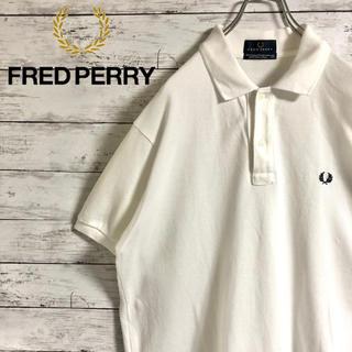 FRED PERRY - 【大人気】フレッドペリー☆刺繍ワンポイントロゴ ビッグサイズ 半袖ポロシャツ