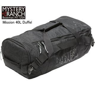 ミステリーランチ(MYSTERY RANCH)のミステリーランチ  Mission ダッフル40L 黒 バックパック(登山用品)