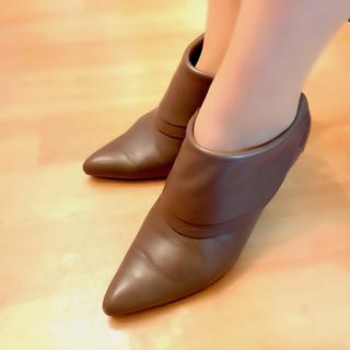ダイアナ(DIANA)の¥2000  DIANA レザーショートブーツ(ブーツ)